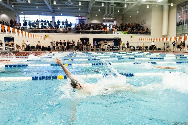 Swim Competition at University Arenas, RIT