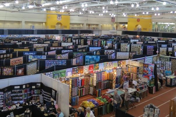 The Biennial Quilt Fest is held in Rochester, NY