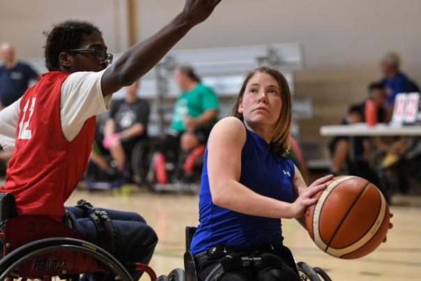 Endeavor Games Athlete Wheelchair Basketball
