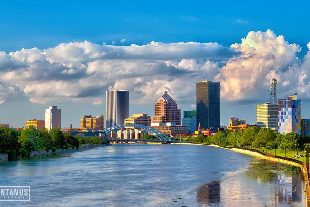 City of Rochester Skyline by Jim Montanus