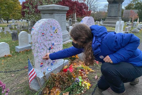 Susan B. Anthony Grave Election Day 2020