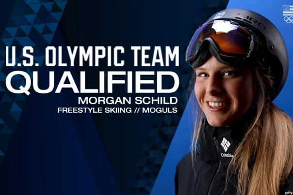 Morgan Schild U.S. Freestyle Skiing Moguls