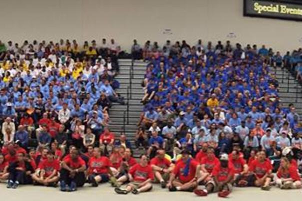 Opening Day at the Special Olympics