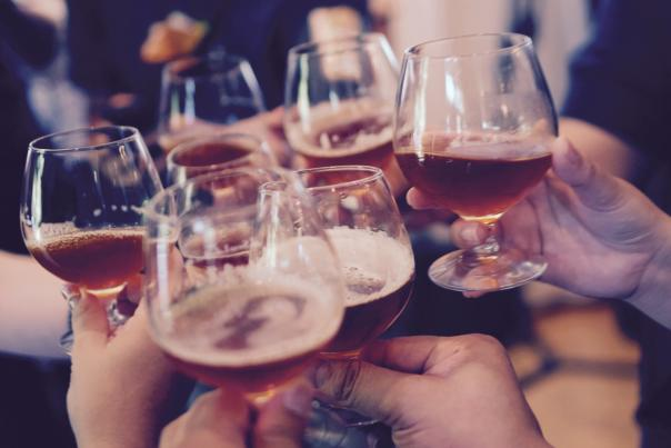 Cheers with Beer