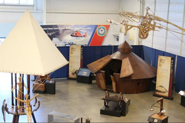 Sacramento showcases da Vinci inventions at Aerospace Museum