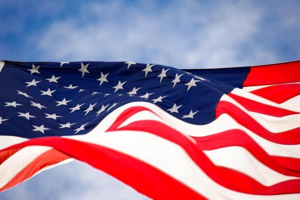Memorial Day Weekend Flag