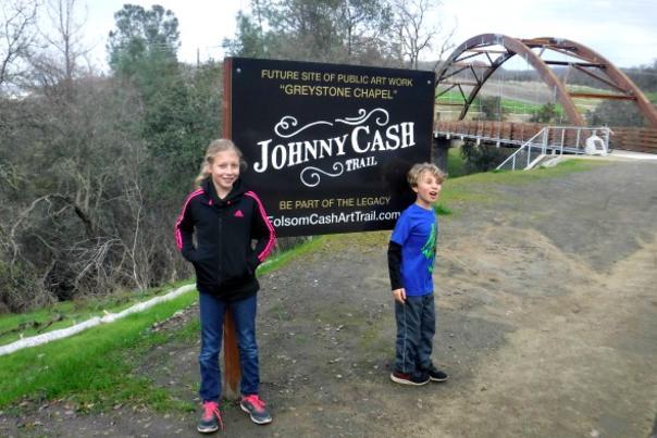 Johnny Cash Trail Folsom, CA