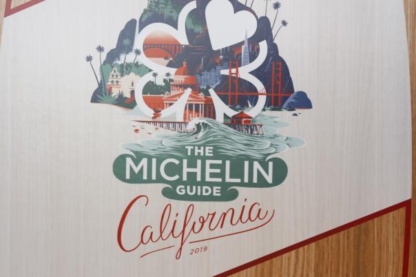 Michelin Guide Surfboard