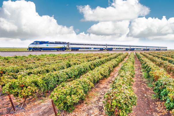Amtrak San Joaquins Train