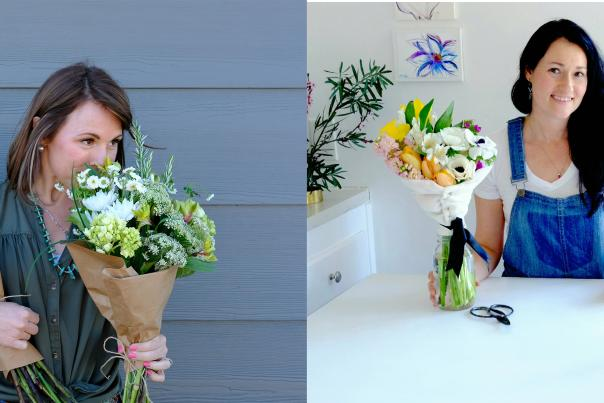 Victoria and Christine, Flowers