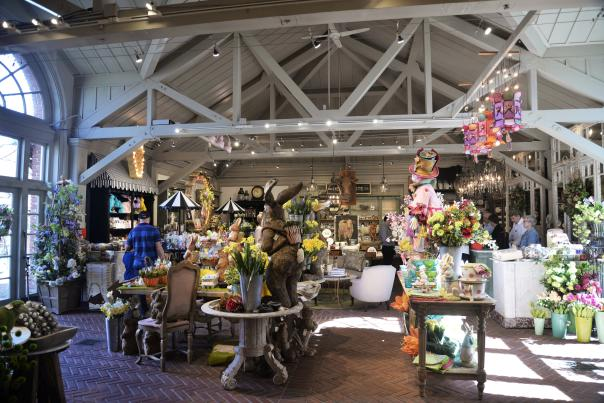 Clock Tower Shop at Filoli Mansion and Gardens in Woodside