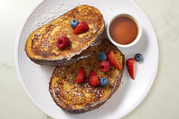 French Toast at Boudin Bakery