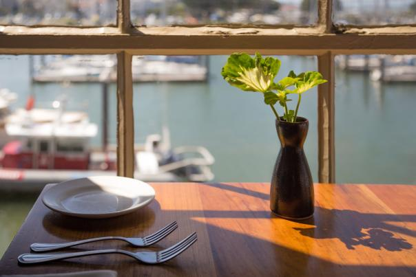 Dine with a view at Fog Harbor