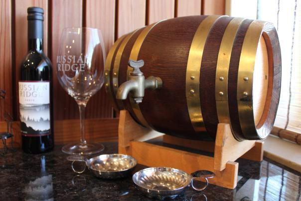 Russian Ridge Winery Wine Bar