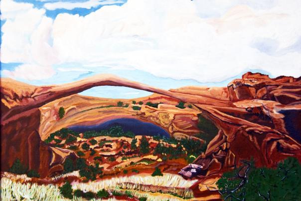 LeRoy Thompson Paintings - La Cienega Studio Tour