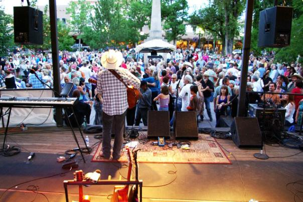 Mike Hearne Photo courtesy Santa Fe Bandstand