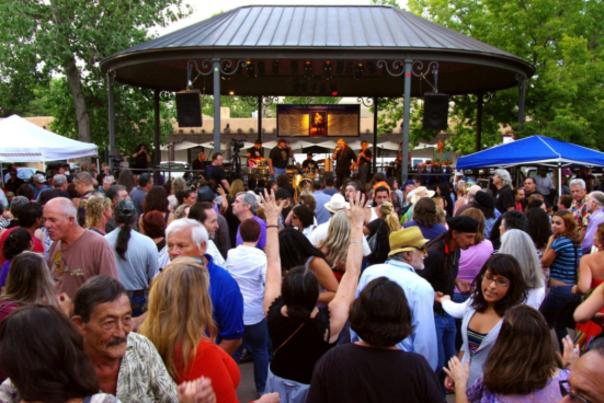 Santa Fe Bandstand 1