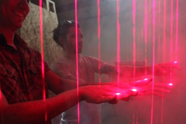 interactive exhibt