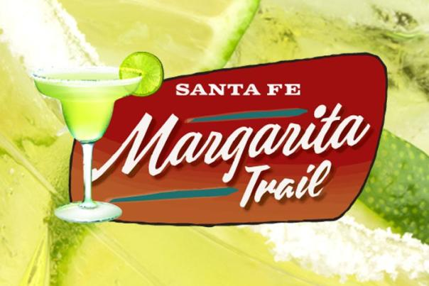 margarita header with logo in middle