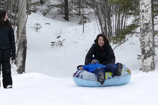 sledding in santa fe