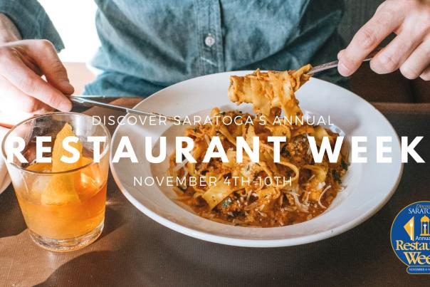 Discover Saratoga's Annual Restaurant Week 2019