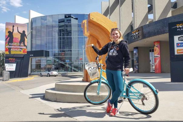 Biking Saskatoon