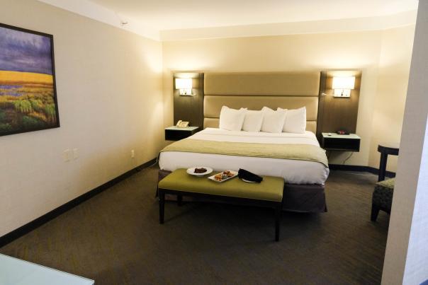 Saskatoon Inn Bed