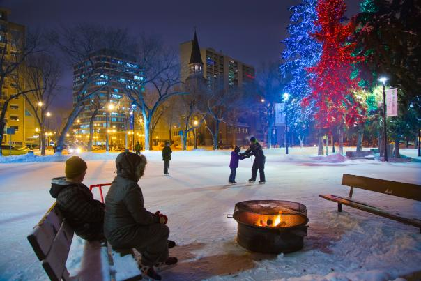 Ice Skating - Tourism Saskatoon