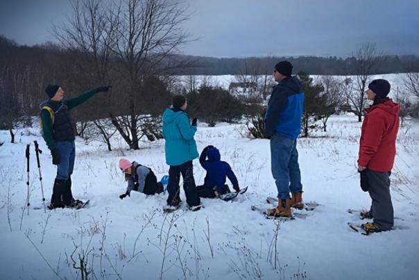 Group Snowshoe Hike