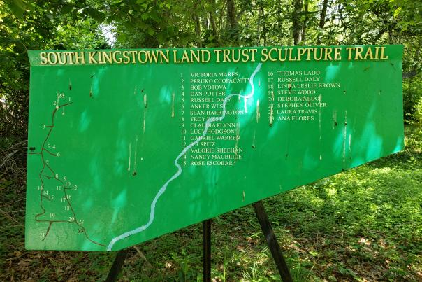 South Kingstown Land Trust Sculpture Trail