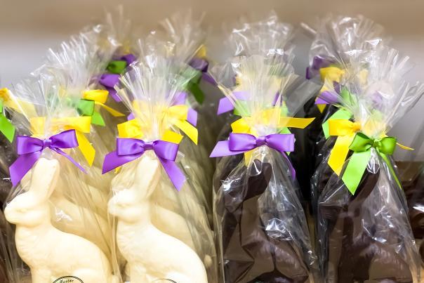 Hauser Chocolates Easter Bunnies