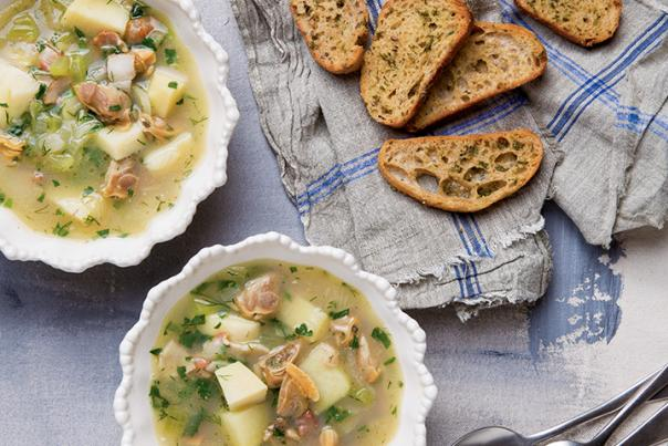 Clear Broth Chowder