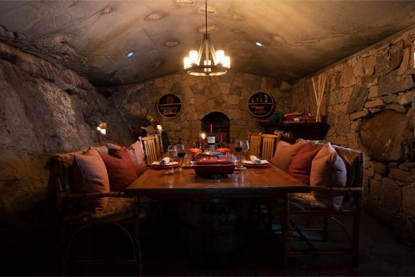 Inside Hobbit House Preserve