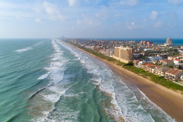 Aerial Beach View