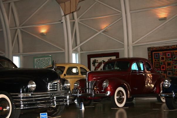 Cars and Quilts Exhibit – Quite a Combination!