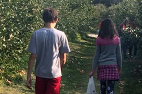 A Day at County Line Orchard with Older Kids