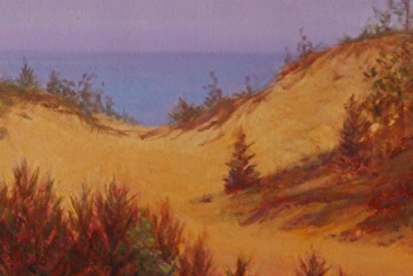 "The Story of Painting ""Indiana Dunes"""