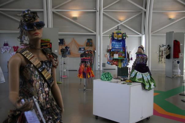 TRASHION...When fashion and trash collide: Making recycling glamorous