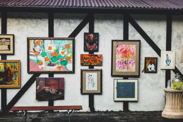 Art Barn Exterior Paintings
