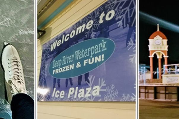 Deep River Waterpark Ice Skating - Katharine Stob