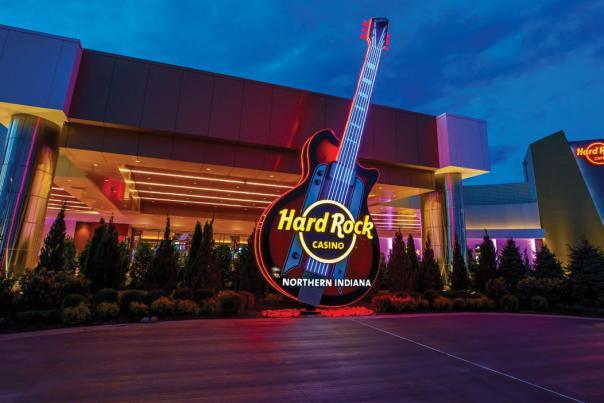 Hard Rock Casino in Gary, Indiana