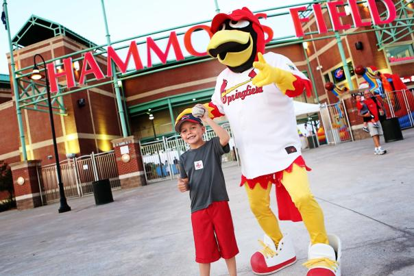Cardinal's Baseball Louie & Boy Hammons Field