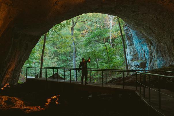 Cave Lantern Walk