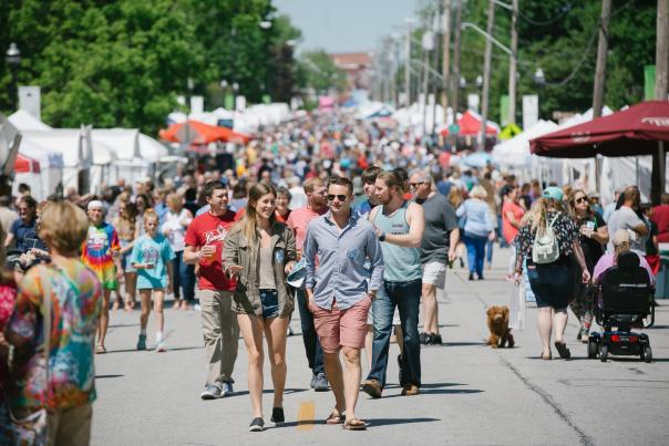 Artsfest in Springfield, Missouri