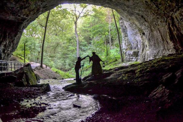 Smallin Civil War Cave in Ozark, Missouri