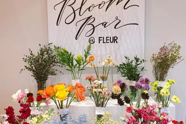 The Bloom Bar at Fleur Floral Studio
