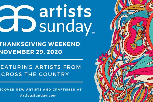 Artists Sunday Event in St Charles Banner