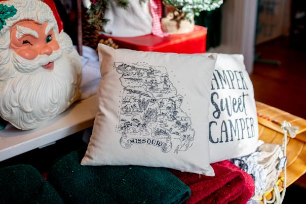 Missouri Pillow from Happy Camper Clothing Co