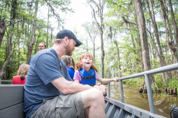 Swamp Boat Tour, Slidell