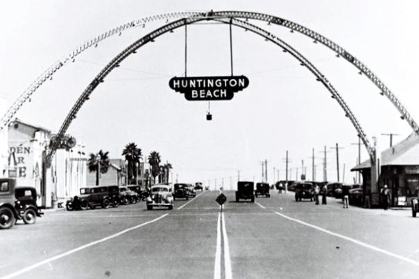 PCH Looking South, 1935.
